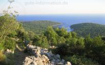 Bucht Krivica Panorama