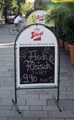 Restaurant Opatija Graz Schild