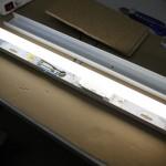 Neon-Röhre vor Umbau auf SMD-LED