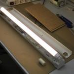 Neon-Röhre nach Umbau auf SMD-LED