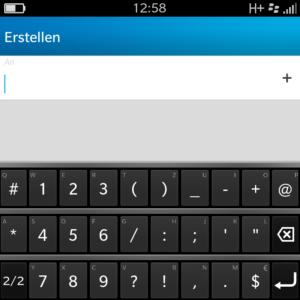 Blackberry Symbole Übersicht